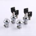 Keyless zinc alloy press lock box button lock