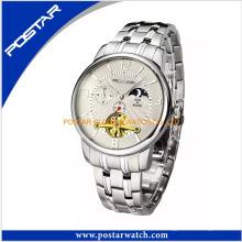 Überragende Qualität Customized Chronograph Uhr mit Edelstahlband