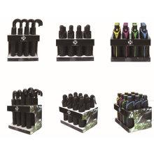 New Design Paper Cardboard Umbrella Display Rack with More Storage/Unique Exhibition Umbrella Stand with Customized Logo