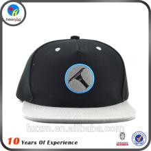 Custom Made 5 Painel Plain Snapback Hat / Cap Atacado