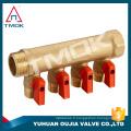 fabrication en Chine Mainfold pour quatre voies motorisé et forgé CW617n matériel et de haute qualité
