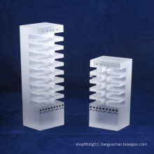 Large Square Cube Acrylic Display Cube and Risers