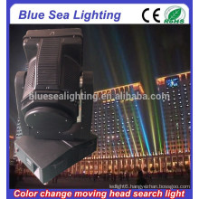 GuangZhou 4/5/7/10KW color changeable moving head searchlight long range