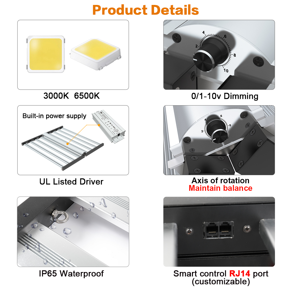 Foldable Grow Light SMD
