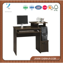 Compact Computer Desk with Shelf and Drawer