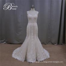 Красивое Свадебное Платье Ручной Работы Цвета Шампань
