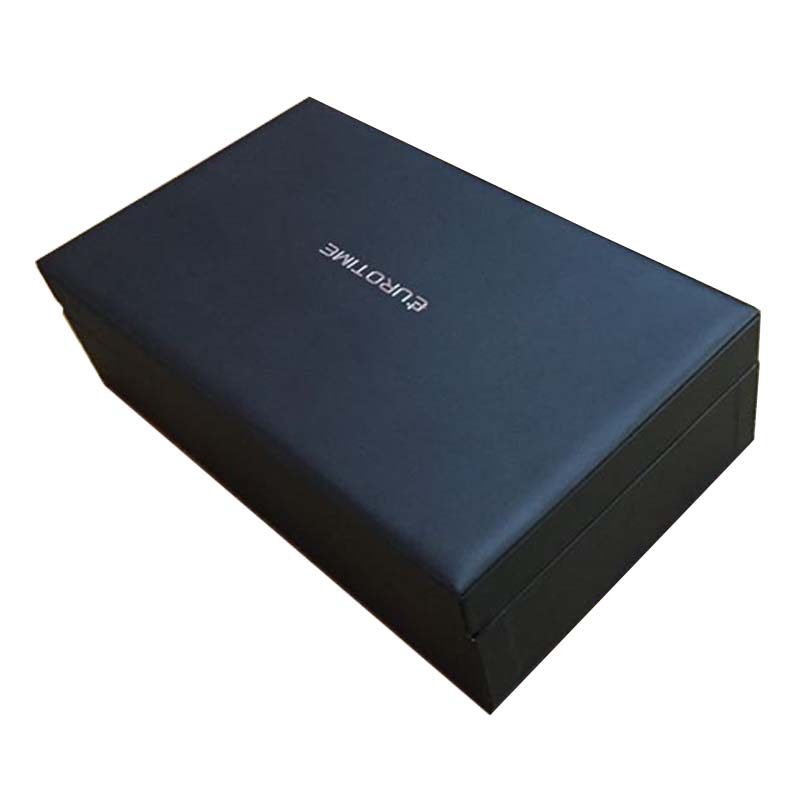 high-end watch leather wooden box