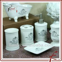 Стиль Frech - керамический набор для ванной комнаты