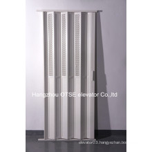 Small folding door for home elevator to use