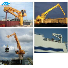 25t18m Telescopic and folding boom marine Crane