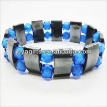 01B5002-2 / nouveaux produits pour 2013 / hematite spacer bracelet en bijoux bracelet / hematite bracelets / hématite magnétique bracelets de santé