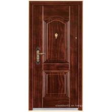 revestimiento de madera de puertas de acero puertas acorazadas