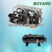 Support de pièces de rechange pour réfrigérateur commercial Hvac mini unité de réfrigération avec R404A compresseur de réfrigération horizontal