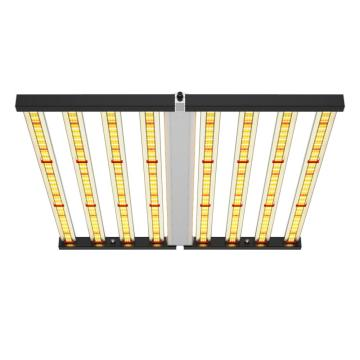 Led de alta eficiencia 640W Grow Light plegable regulable