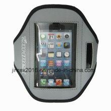 Спортивная беговая дорожка Неопреновая рука с мешками для мобильного телефона-Jb14m031
