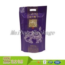Los tamaños de encargo laminados de la categoría alimenticia de alta calidad diseñan la impresión del bolso basmati del embalaje del arroz de 1Kg 2Kg 5Kg