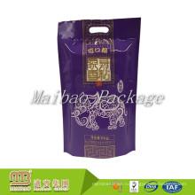 Высокого качества Прокатанное качество еды нестандартной конструкции Размеры печати 1кг 2кг 5кг Басмати Упаковка мешок риса