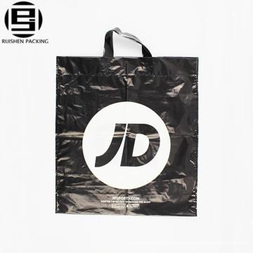La bolsa plástica blanca del bolso de compras que imprime la historieta figura el bolso del regalo