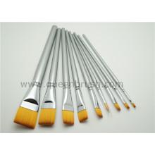 9PCS Copper Ferrule Makeup Brush Set