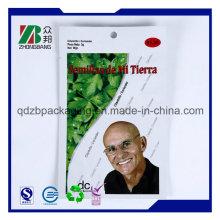 Оптовая Ziplock Сырье органических семян Чиа сумка