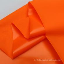 Hot Selling Ripstop Greenery Orange With Grid 40D Nylon Laminating Waterproof Airtight TPU Fabric For Matt
