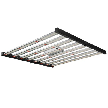 Luz LED de barra plegable regulable de 640 vatios