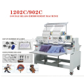 2 Heads 15 needles 3D embroidery machine with factory price for garment/hat/flat