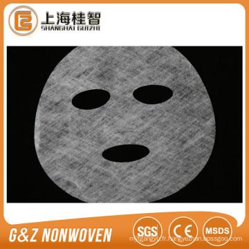non-tissé collagène sec masque facial feuille soluble dans l'eau