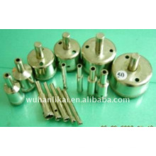electroplated diamond used water well drill bit