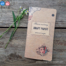 Recycled 48k Mini Kraft Paper Cover Sewing Notebook