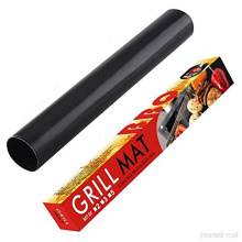 Heat resistant  non stick ptfe oven mat liner for barbecue grill