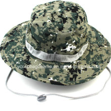 Chapéu largo de Boonie da borda, chapéu flexível