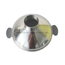 Stainless Steel Wide-Mouth Funnel with Double Ears