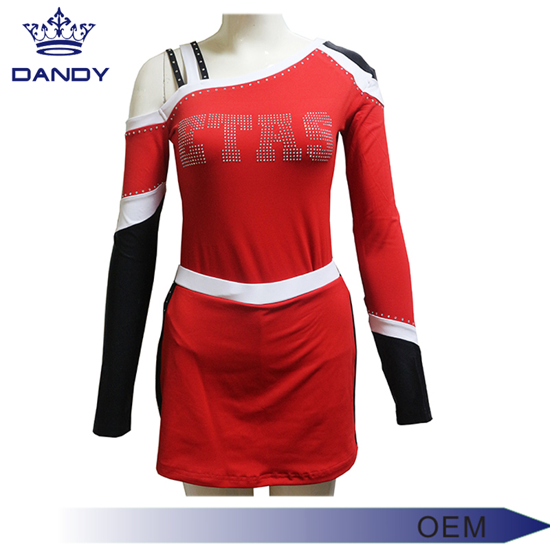 cut and sewn cheer uniform