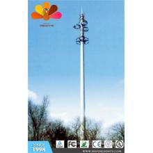 Torre móvil independiente de 30 m para área residencial