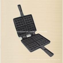 Preasedoned ferro fundido panqueca Mould Factory Supply