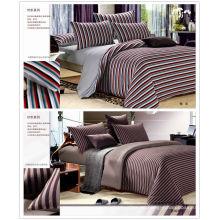 100% algodón tejido de punto conjunto de ropa de cama