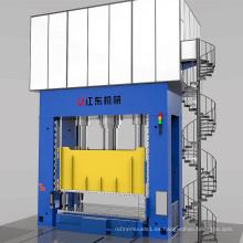 Prensa hidráulica de prueba de moldes