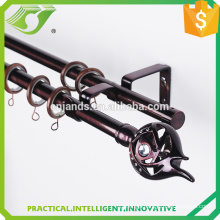 D-S0003 New curtain rod price with hinged curtain rod