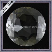 Preço de fábrica por atacado branco que brilha a pedra de cristal de Natrual