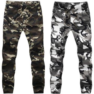 Pantalons imprimés pour hommes Pantalons de coton Jogger camouflage