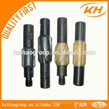 Centrifugeur à barre de ventouse API 25mm / centralisateur rigide pour équipement de champs de pétrole