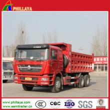 Camião basculante de 8 * 4 6 * 4 420HP 371HP Sinotruk HOWO para a venda