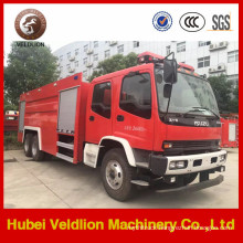 6X4 10 Wheels Heavy Japanese Foam Fire Truck
