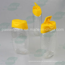 480g Plastik Squeeze Honig-Flasche mit Nicht-Tropf-Silikon-Ventil-Kappe (PPC-PHB-03)
