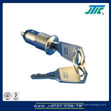 12mm Micro Rotary Switch Key Lock
