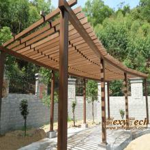 Personalizar o WPC Pergola de madeira com resistência UV