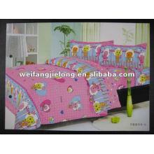 100%cotton floral designs for bedsheets