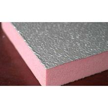 Hoja de acero prepintada en relieve para tablero de aislamiento