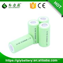 Batería recargable de Ni-cd SC 1600mah 1.2v con las tetas al aire libre exportación al por mayor sobre la entrega rápida de la palabra